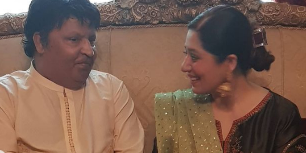 Umer Sharif's wife