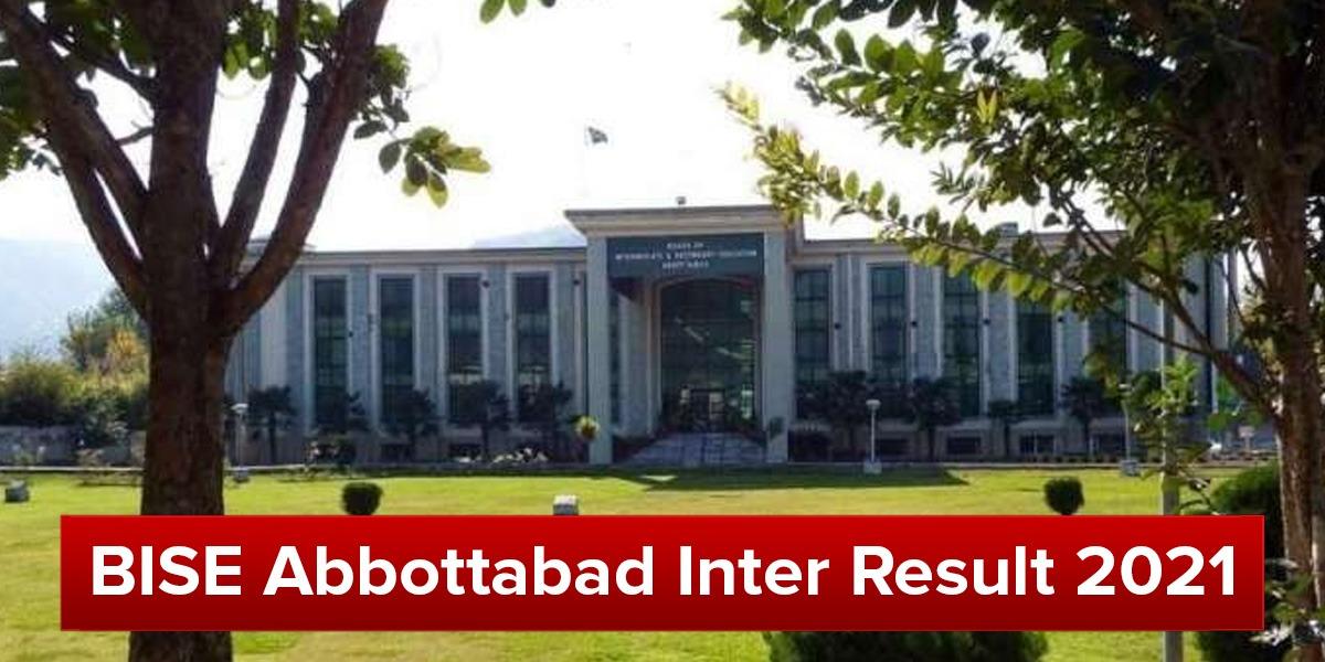 BISE Abbottabad Inter result 2021