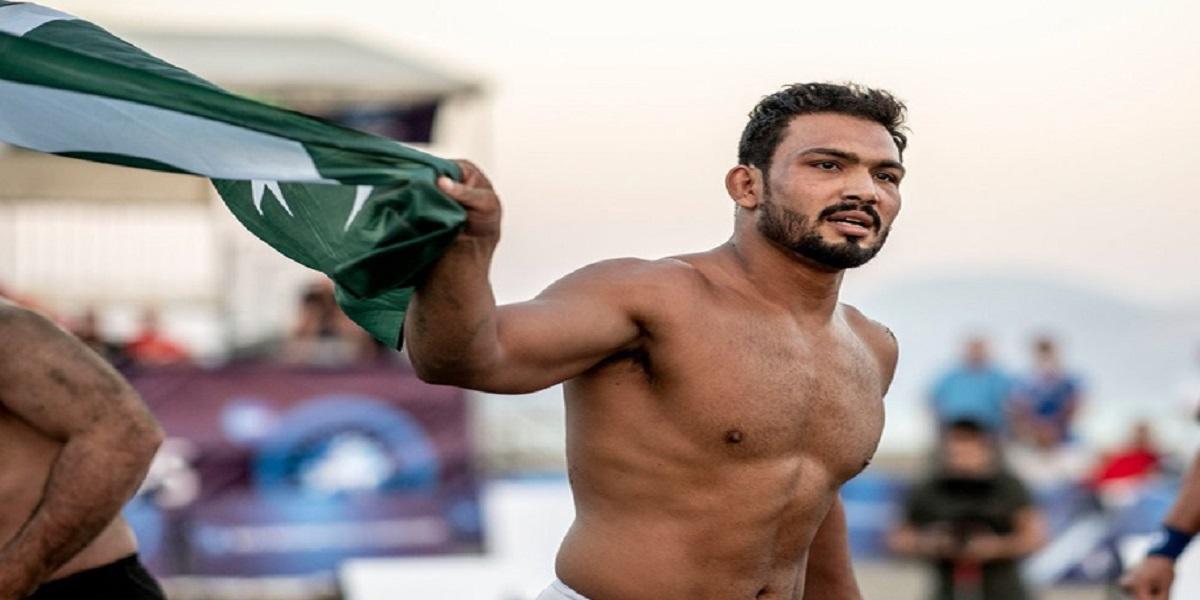 Beach Wrestling World Series: Inam Butt qualifies for quarter-finals