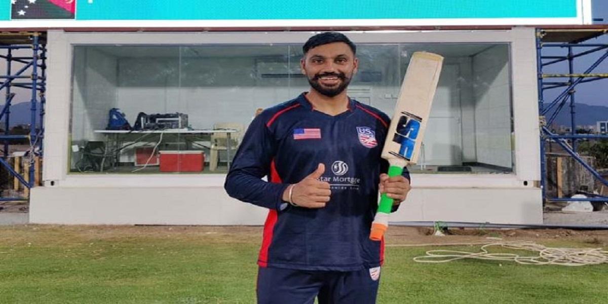 Jaskaran Malhotra hit six sixes in an over in ODI