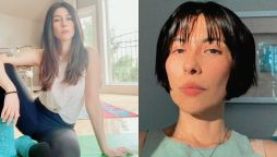Meesha Shafi hair transformation