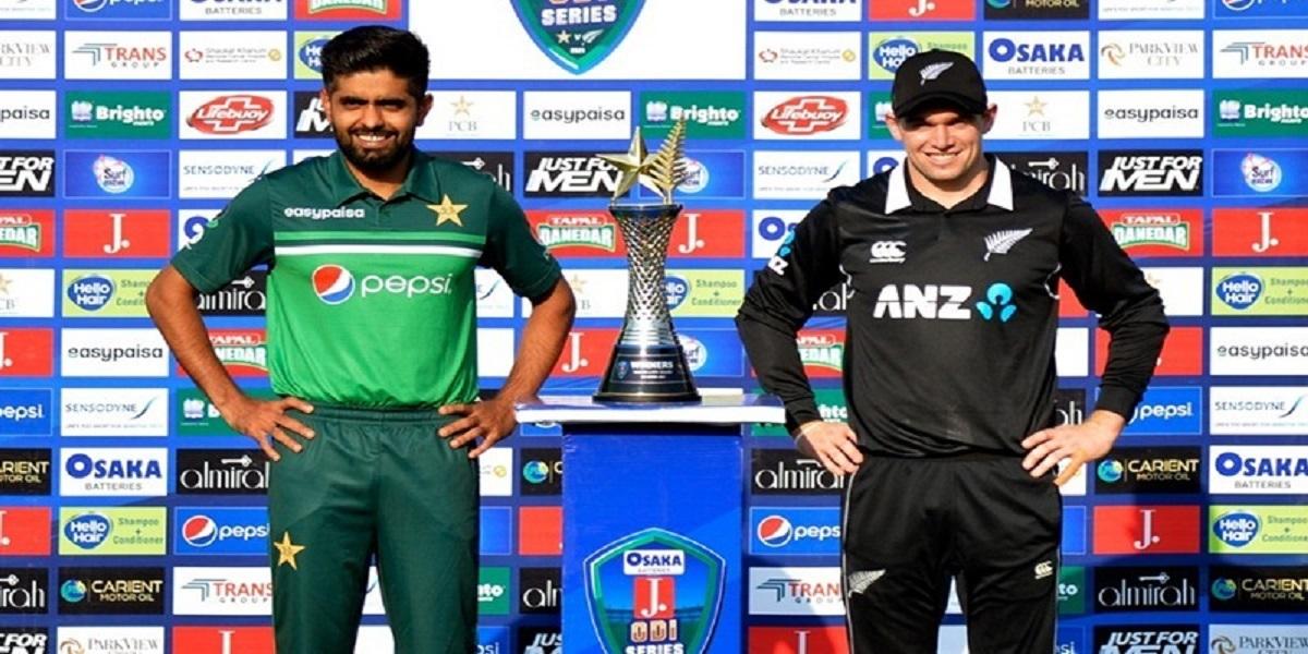 Pakistan vs New Zealand ODI series trophy revealed