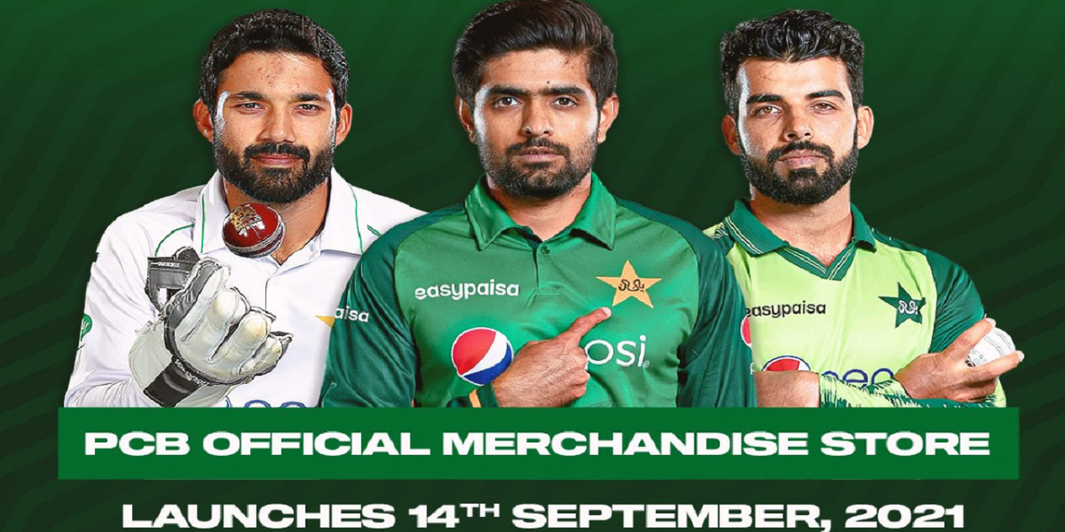 Pakistan Cricket Board Launches its Official Merchandise Store