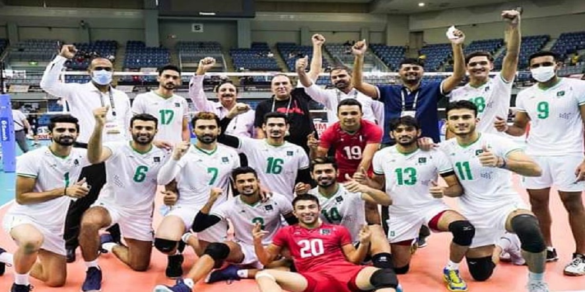 Pakistan qualifies for Round 8 in Asian Volleyball Championship