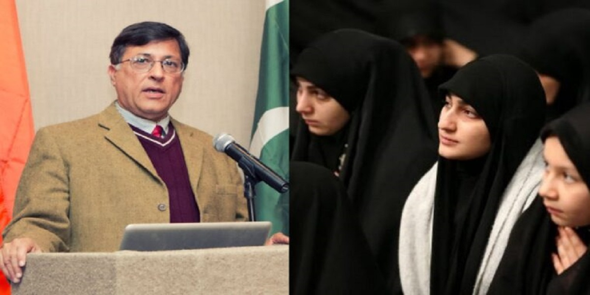 Pervez Hoodbhoy annoys netizens with burqa and hijab remarks