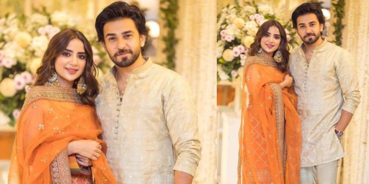 Saboor Ali Minal Khan's wedding