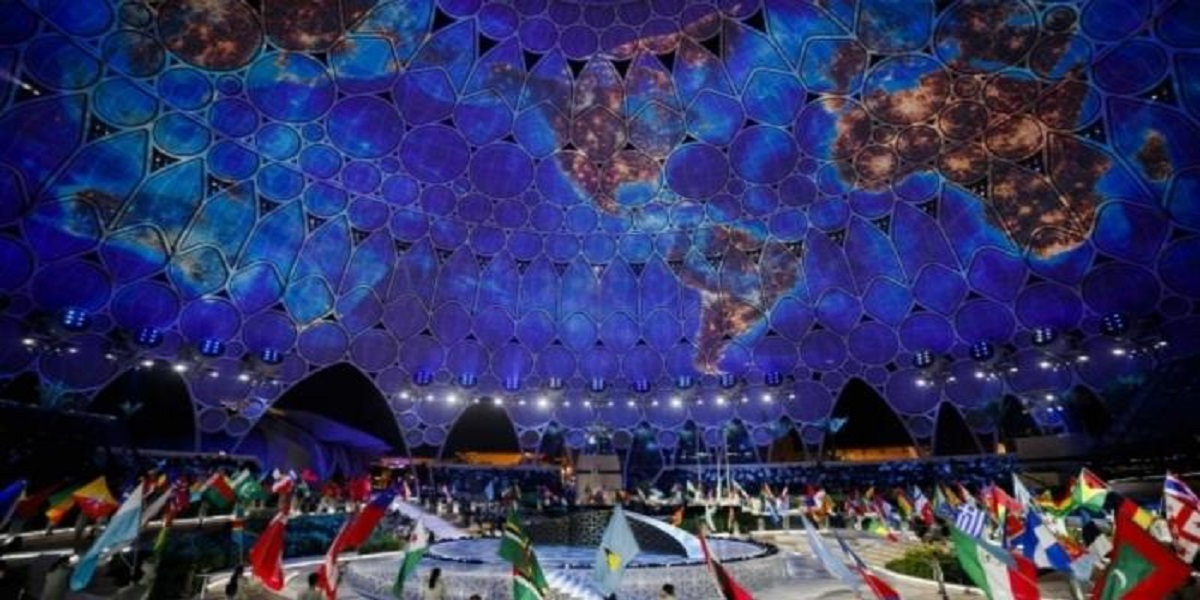 Opening ceremony of Dubai Expo 2020 broadcast throughout the world