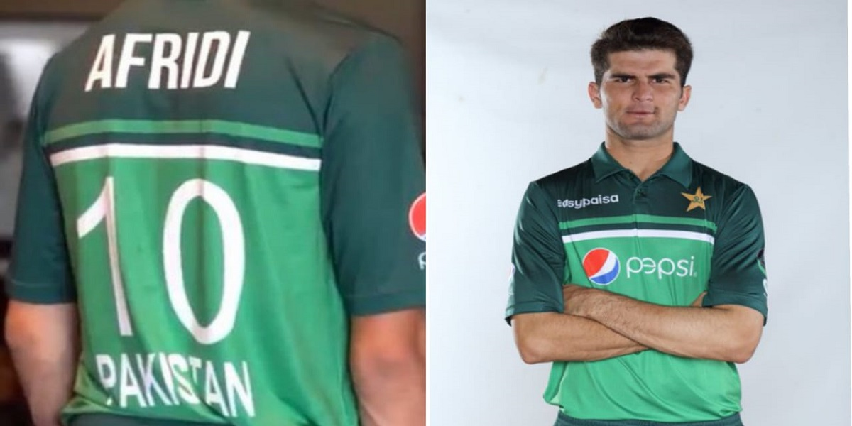 Shaheen Shah Afridi gets his father-in-law shirt number '10'