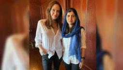 Malala Angelina Jolie book