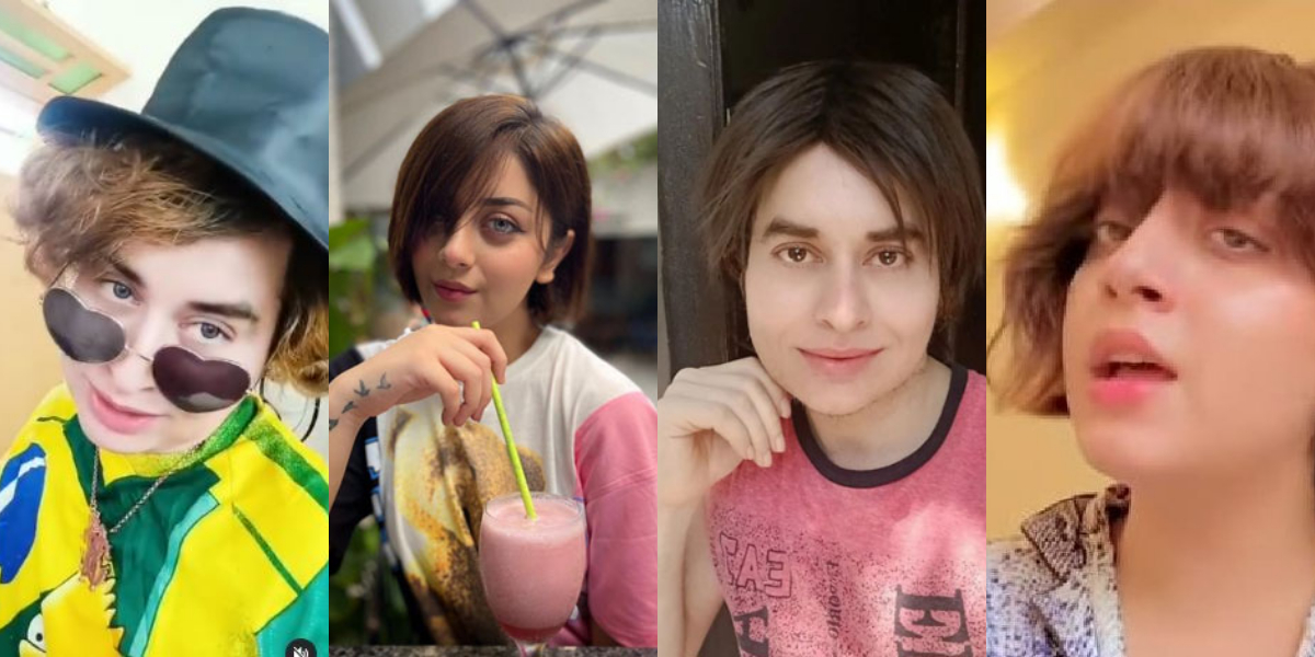 Nasir Khan Jan accuses Alizeh Shah of copying his hairstyle; What you think?
