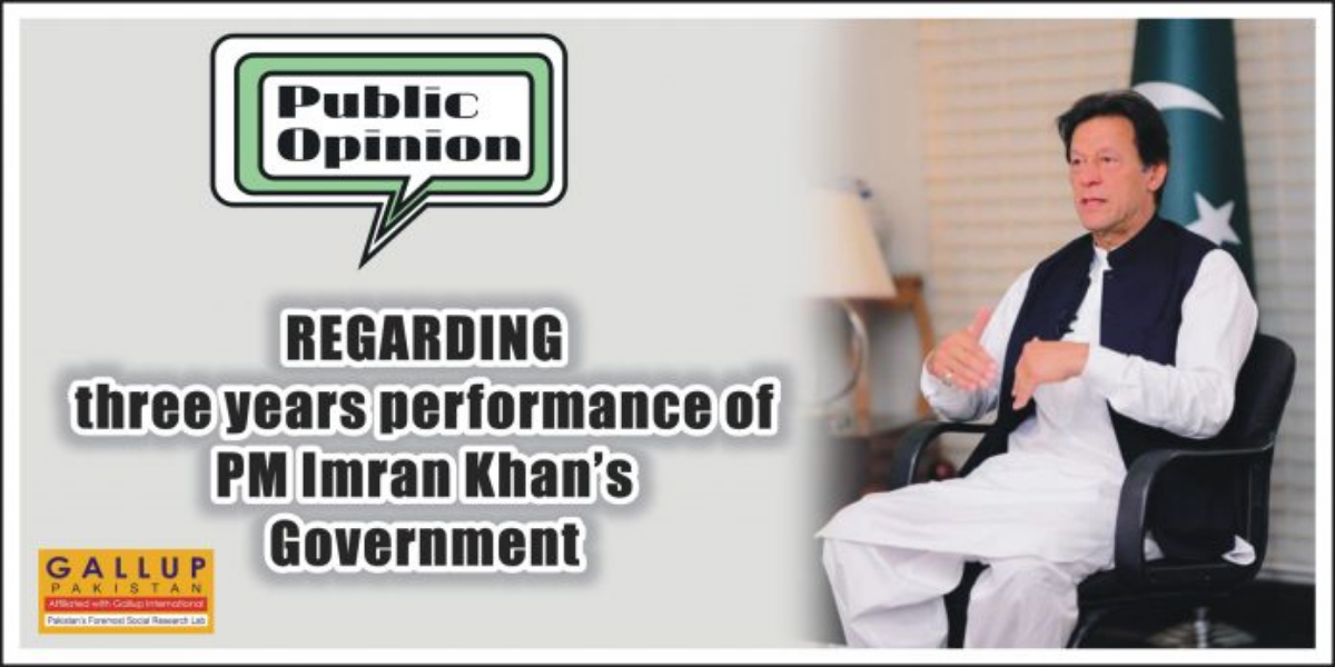 Majority terms 3 years of PTI Government's performance good: Survey