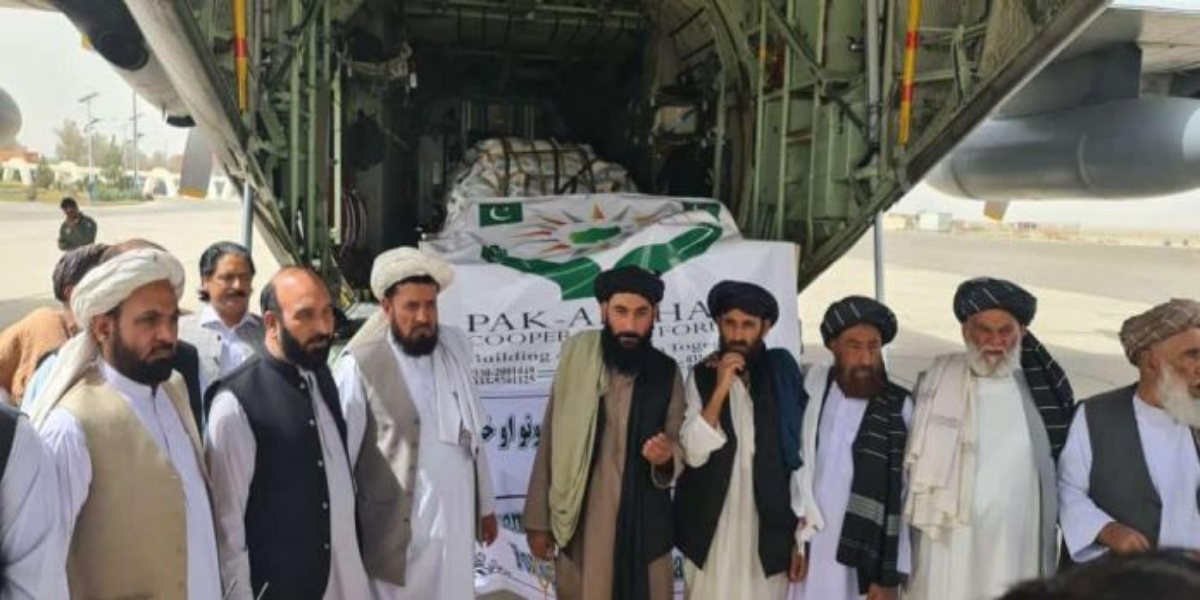 Pakistan's 2nd aircraft with relief goods lands in Kandahar