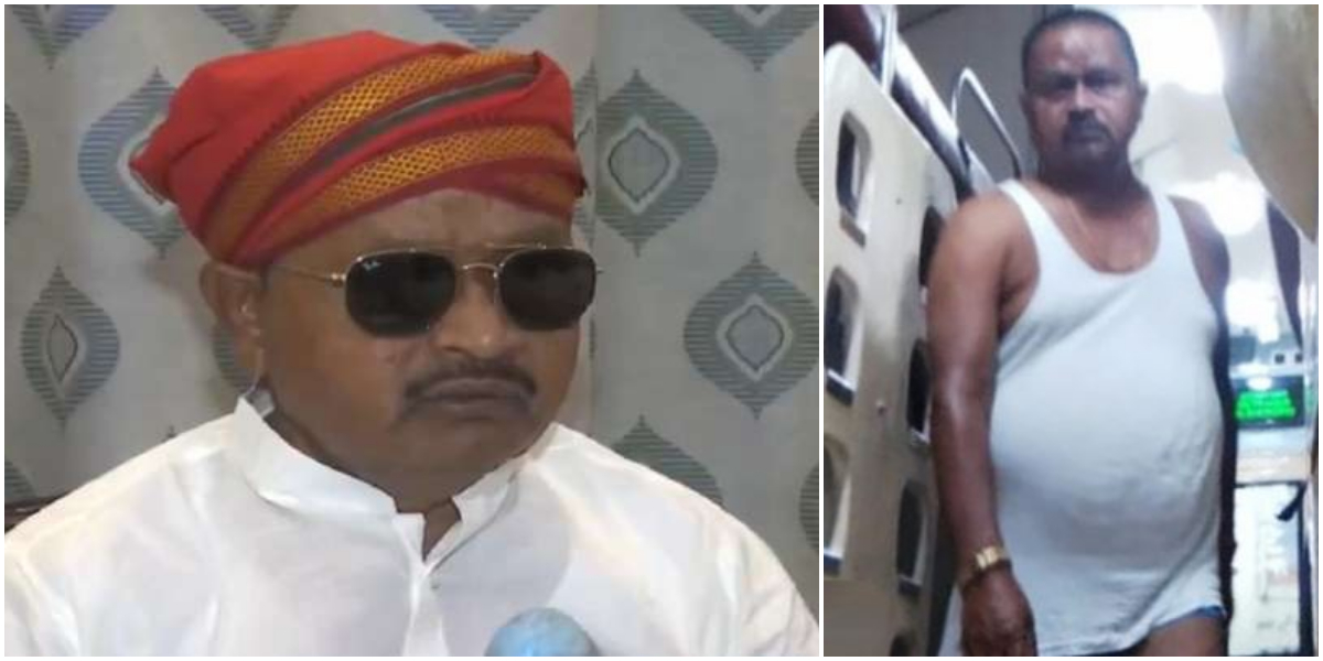Indian MLA roaming in underwear in train owing to 'stomach upset'