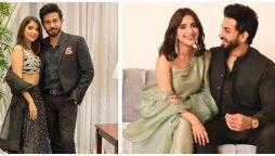 Ali Ansari, Saboor Aly's filmi Instagram exchange gives fans couple goals