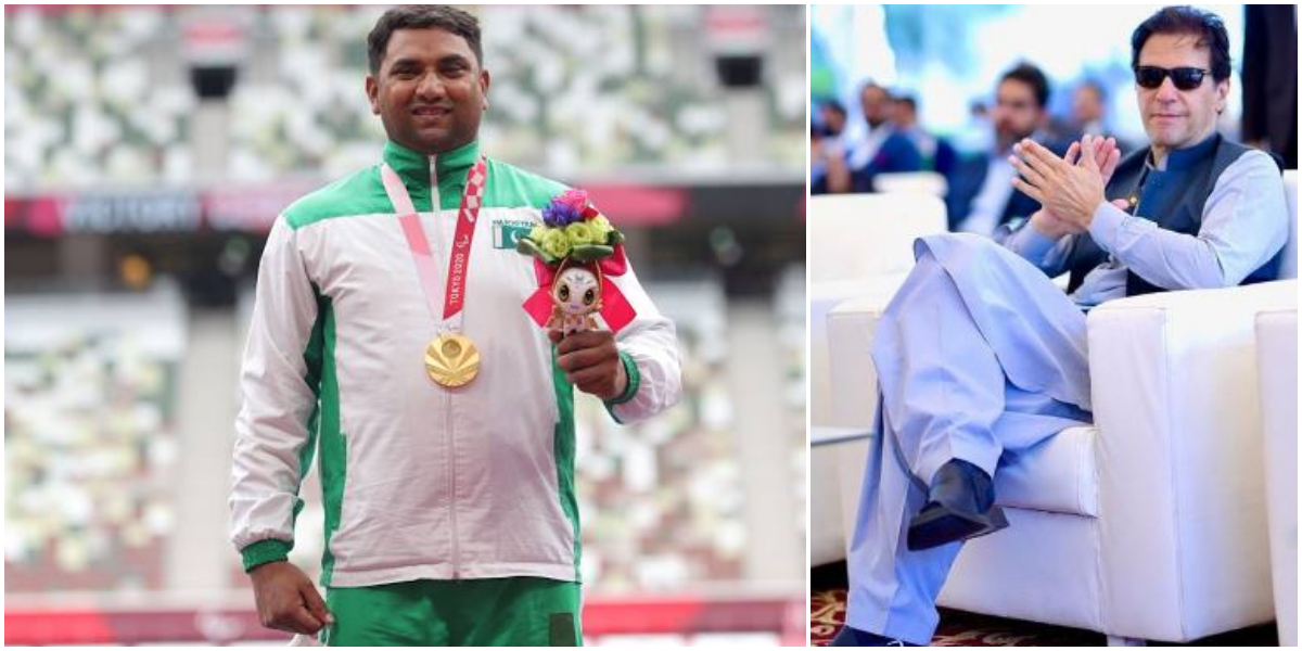 PM Imran, others congratulate Haider Ali for winning gold medal in Paralympic