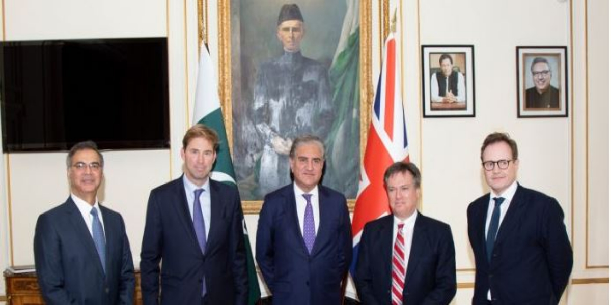 Qureshi, British House of Common committee chairmen discuss situation in Afghanistan