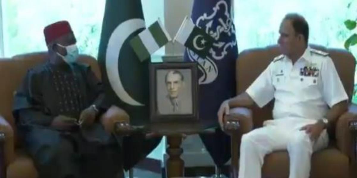 Ambassador of Nigeria to Pakistan visits Naval Headquarters Islamabad