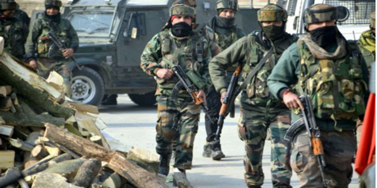 Indian troops launch CASO in Occupied Jammu and Kashmir