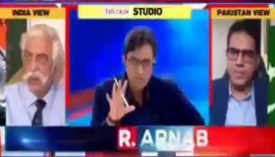 Pakistani Panelist catches Arnab Goswami's lies about Serena Hotel Kabul