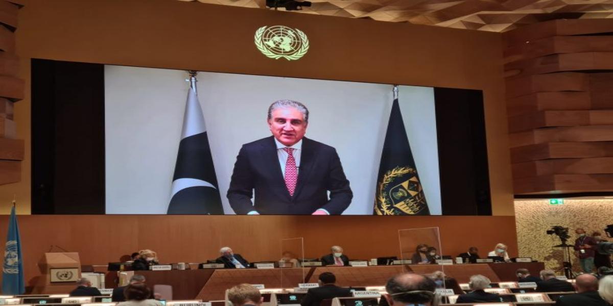 FM Qureshi cautions int'l community against sluggish response over Afghanistan