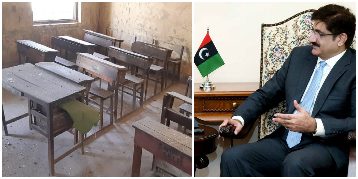CM Sindh orders probe into school desks corruption Scandal