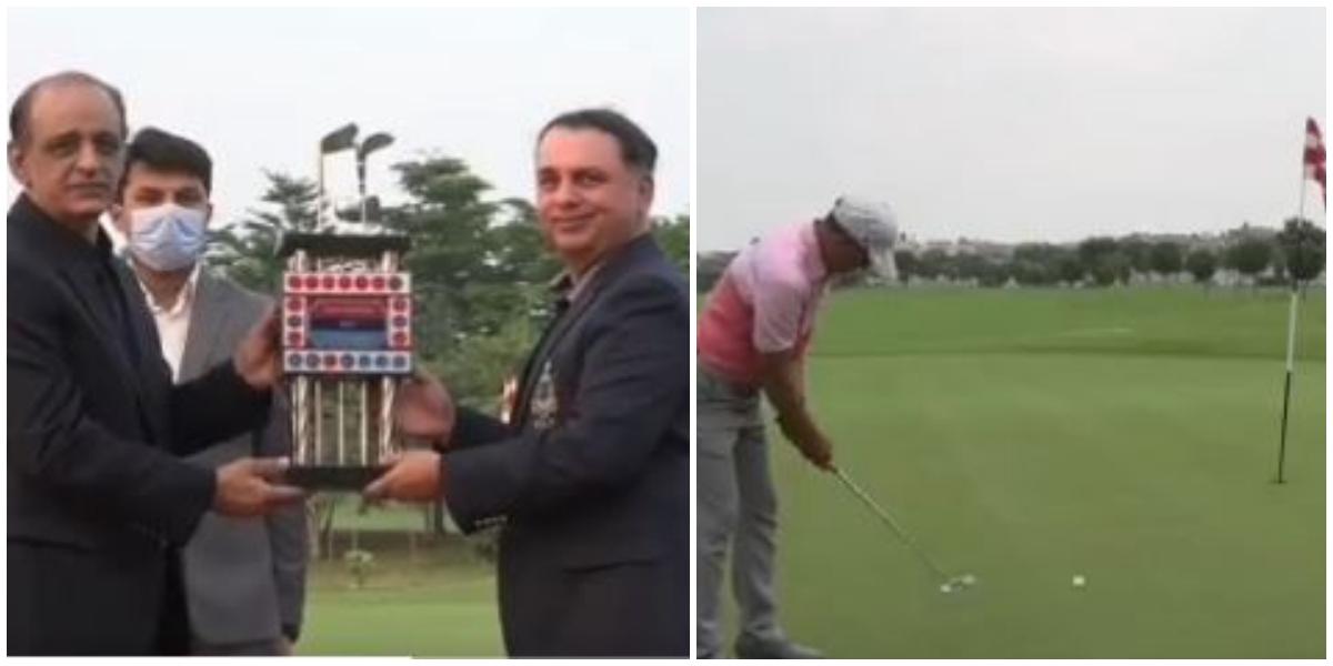 Pakistan Air Force wins Inter Services Golf Championship-2021