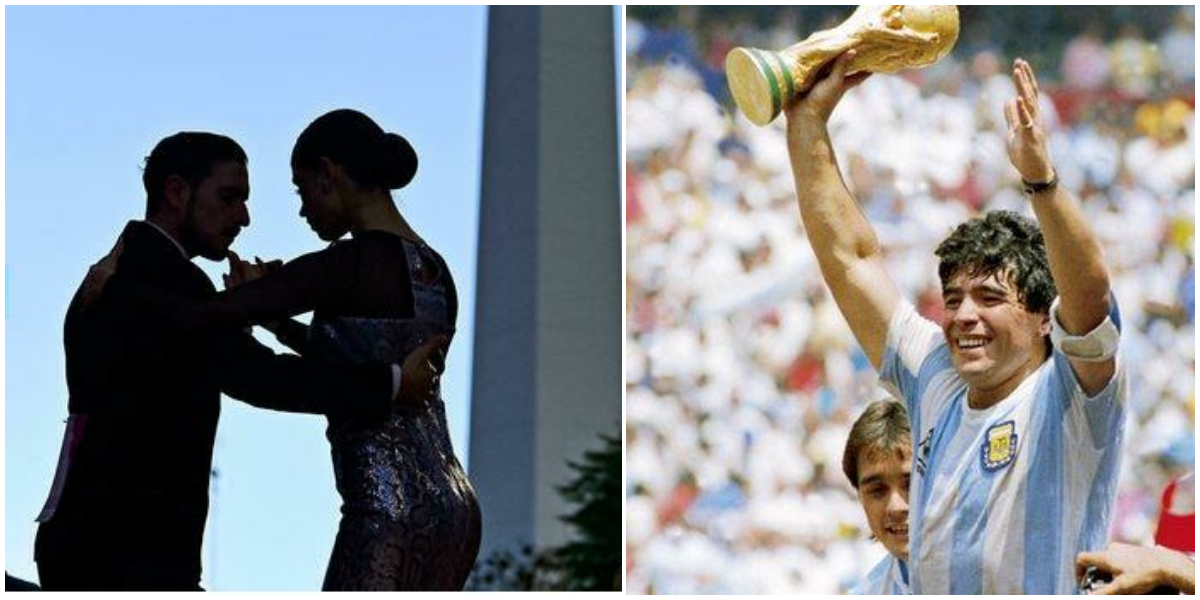 Argentinian couples win top tango competition after Maradona tributes