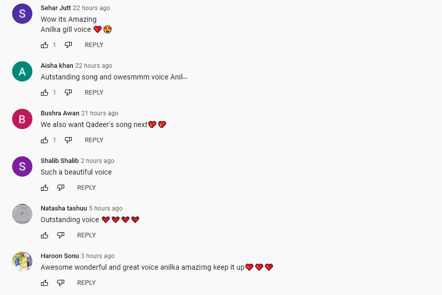 ankita song comments 3