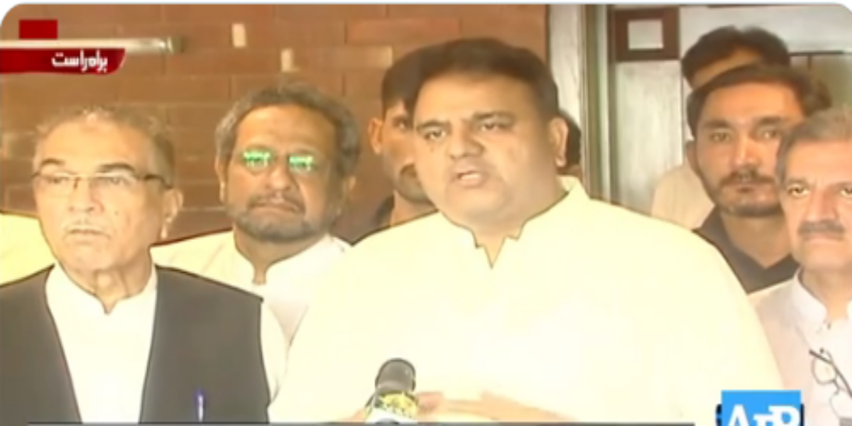 'DG ISI is not the first intelligence chief, who visited Kabul': Fawad Chaudhry