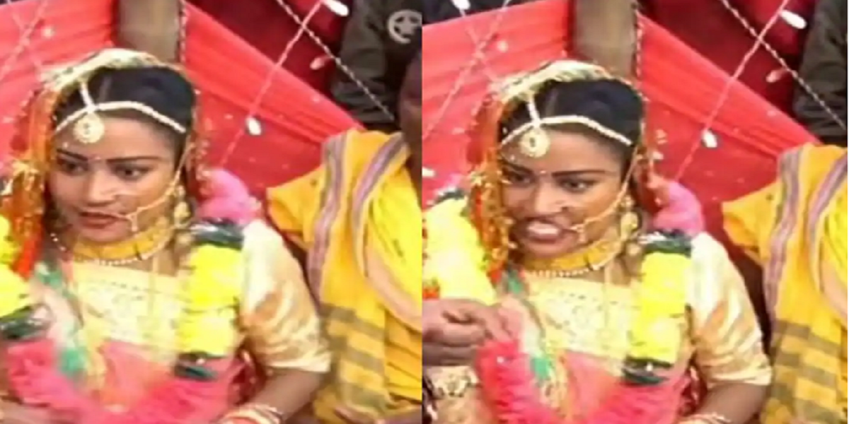 India: Bride slapped the groom for chewing gutka during wedding