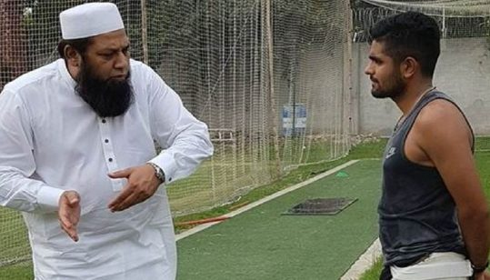 Babar Azam said 'You have always been a fighter' to Inzamam-ul-Haq
