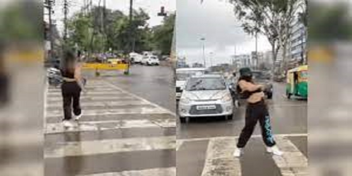 Lady dancing on road for Instagram is now in trouble