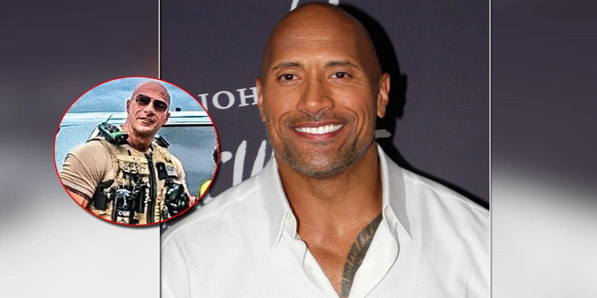 If you thought that was Dwayne Johnson 'The Rock', you're not alone