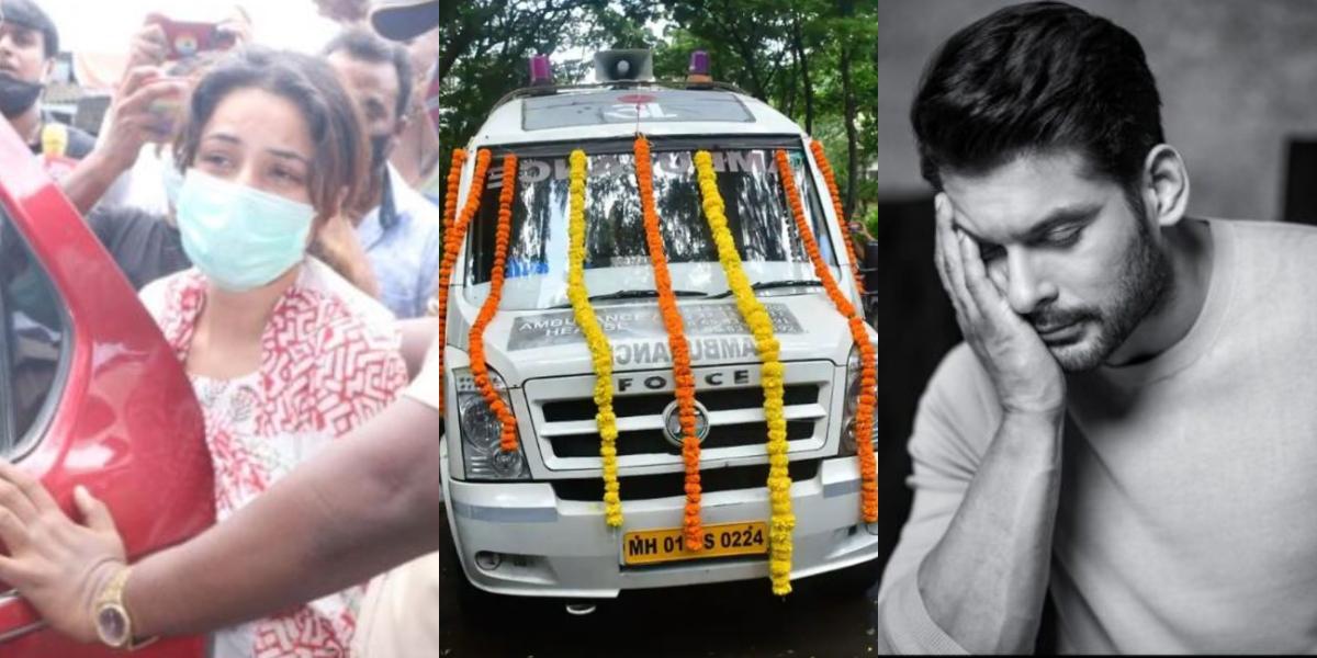 Sidharth Shukla cremation Shehnaaz Gill shattered