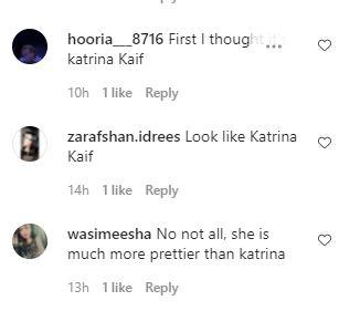 Areeba Habib Katrina Kaif