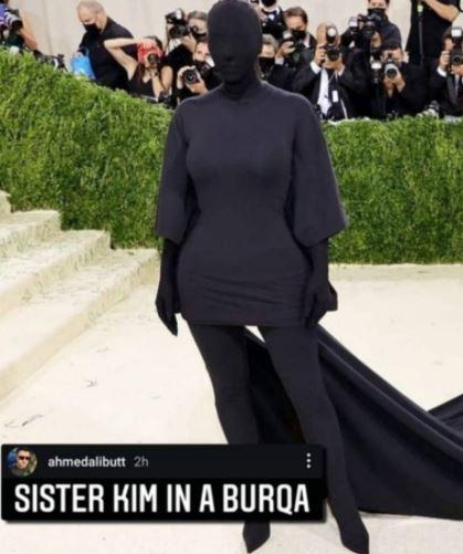 Kim Kardashian Ahmad Ali Butt