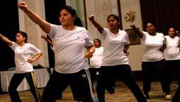 Islamabad Police has established self-defense training for women.