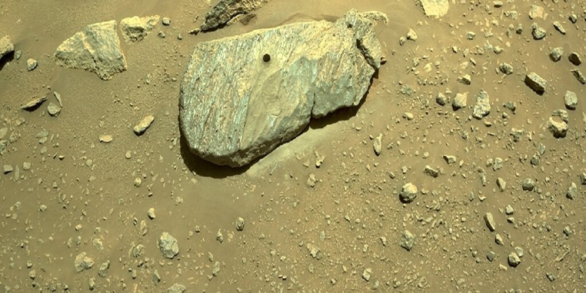 NASA believes that Mars rover is successful in obtaining a rock sample