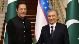 Pakistan Uzbekistan SCO summit