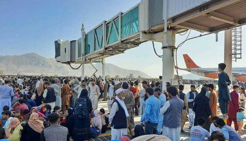 kabul airport view