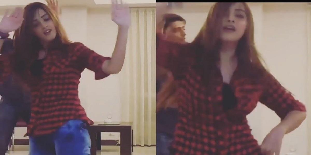 Alizheh Shah's viral dance