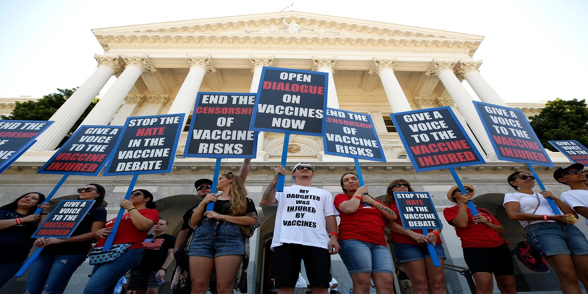 Supporters of 'Funeral home' asking people to don't get vaccinated
