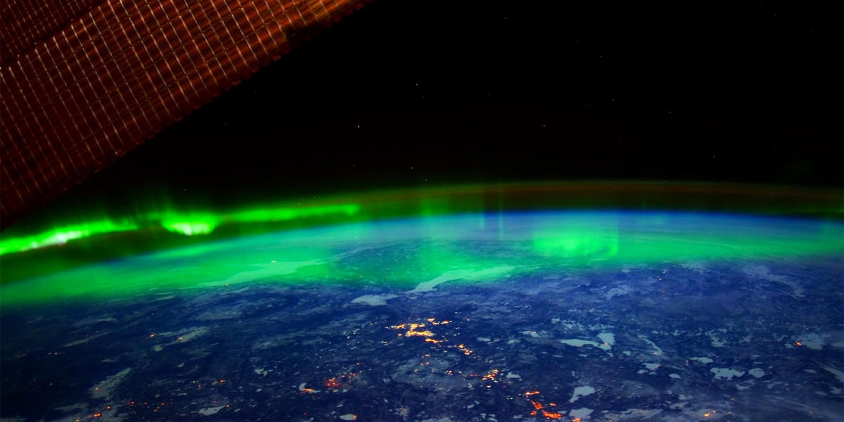 Northern Lights: The most beautiful thing seen from space