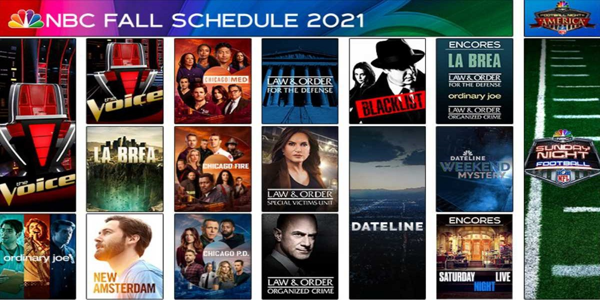 Take a look at the whole NBC fall 2021 television schedule
