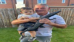 Bricklayer resolve the secret of Castleford Crocodile running in lawn