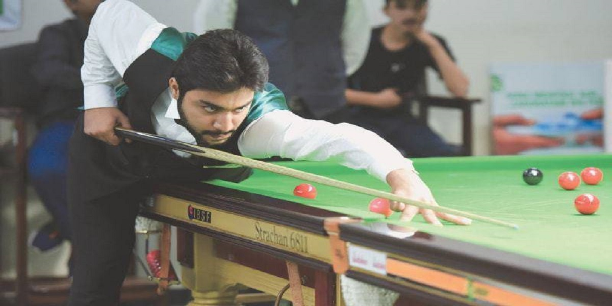 Haris Tahir qualifies for the semi-final in Asian Snooker Championship