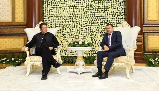 PM Imran in Tajikistan