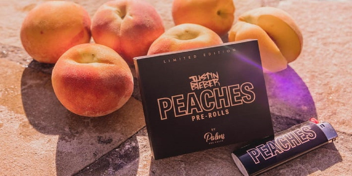 """Justin Bieber enters the cannabis business to celebrate """"Peaches"""""""