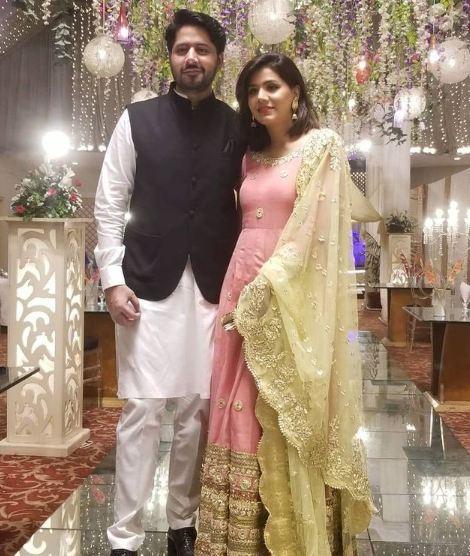 Imran Ashraf wife