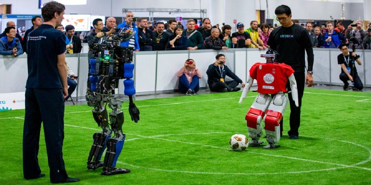 Robot football stars to overcome humans in the next 30 years